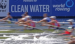 On course for cleaner water: WWF and World Rowing extend partnership t
