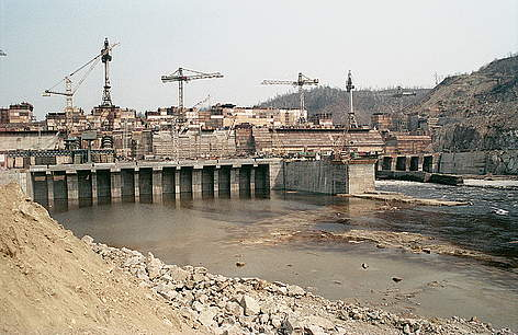 Environmental impact due to the construction works on the development